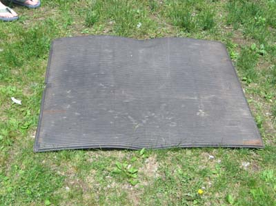 резиновый коврик