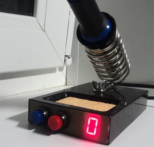 Регулятор температуры для паяльника