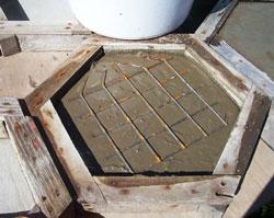 армирование плитки