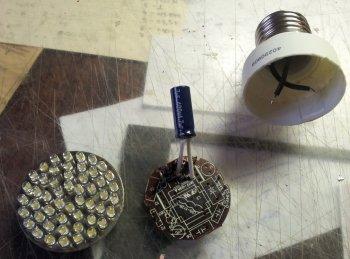 Светодиодная лампочка своими руками