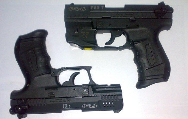 Пистолет reck walther pр газовый пистолет с возможностью стрельбы резиновой пулей